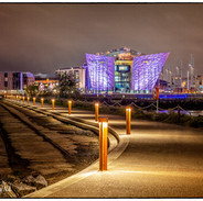 Titanic-Building at Night