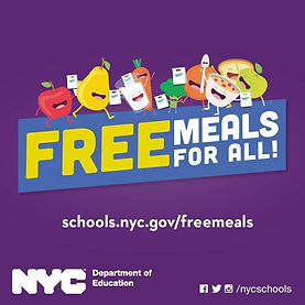 Free Meals for ALL New Yorkers