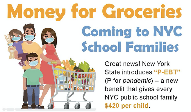 Food Benefits for All NYC Public School Students
