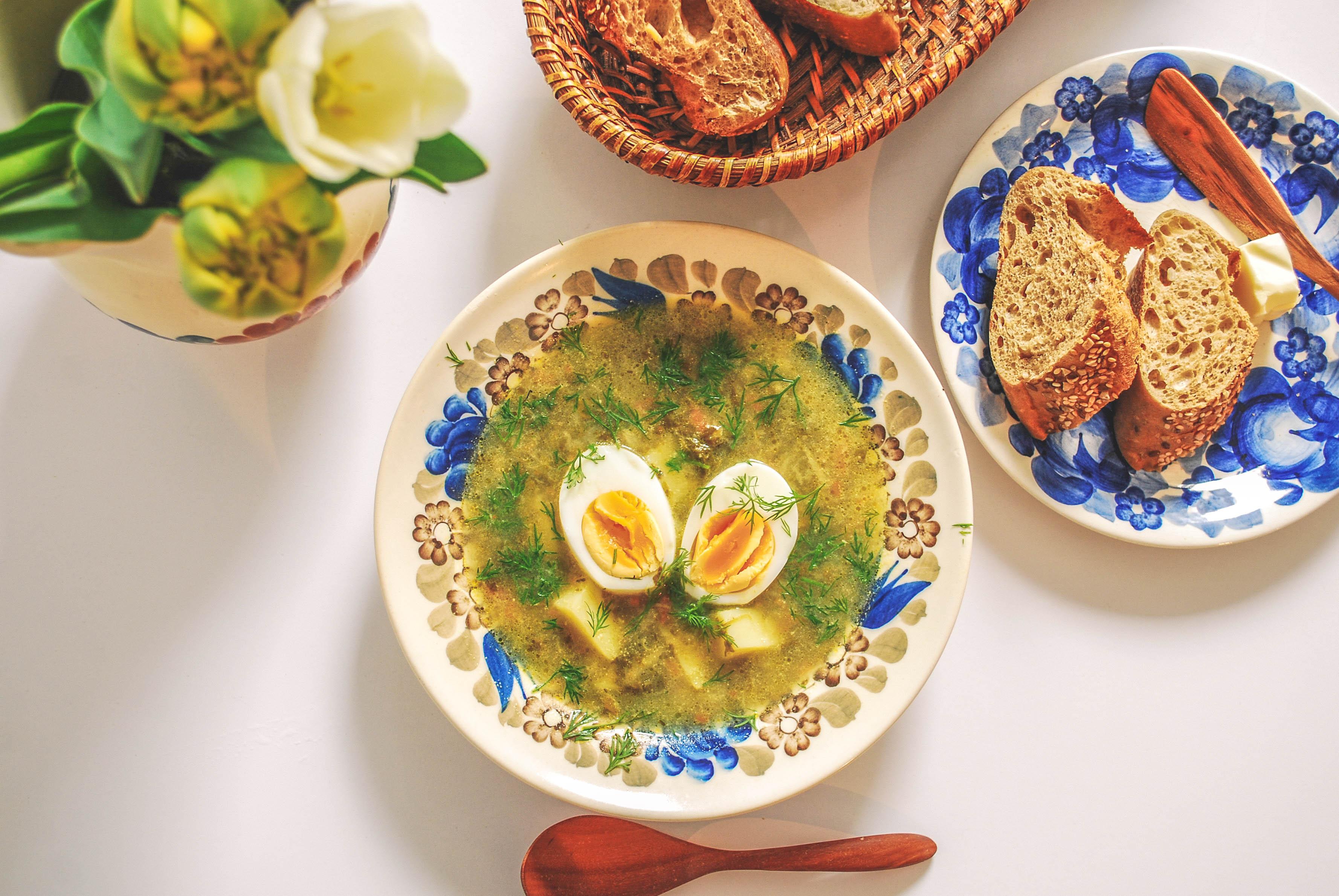 スイバのスープ