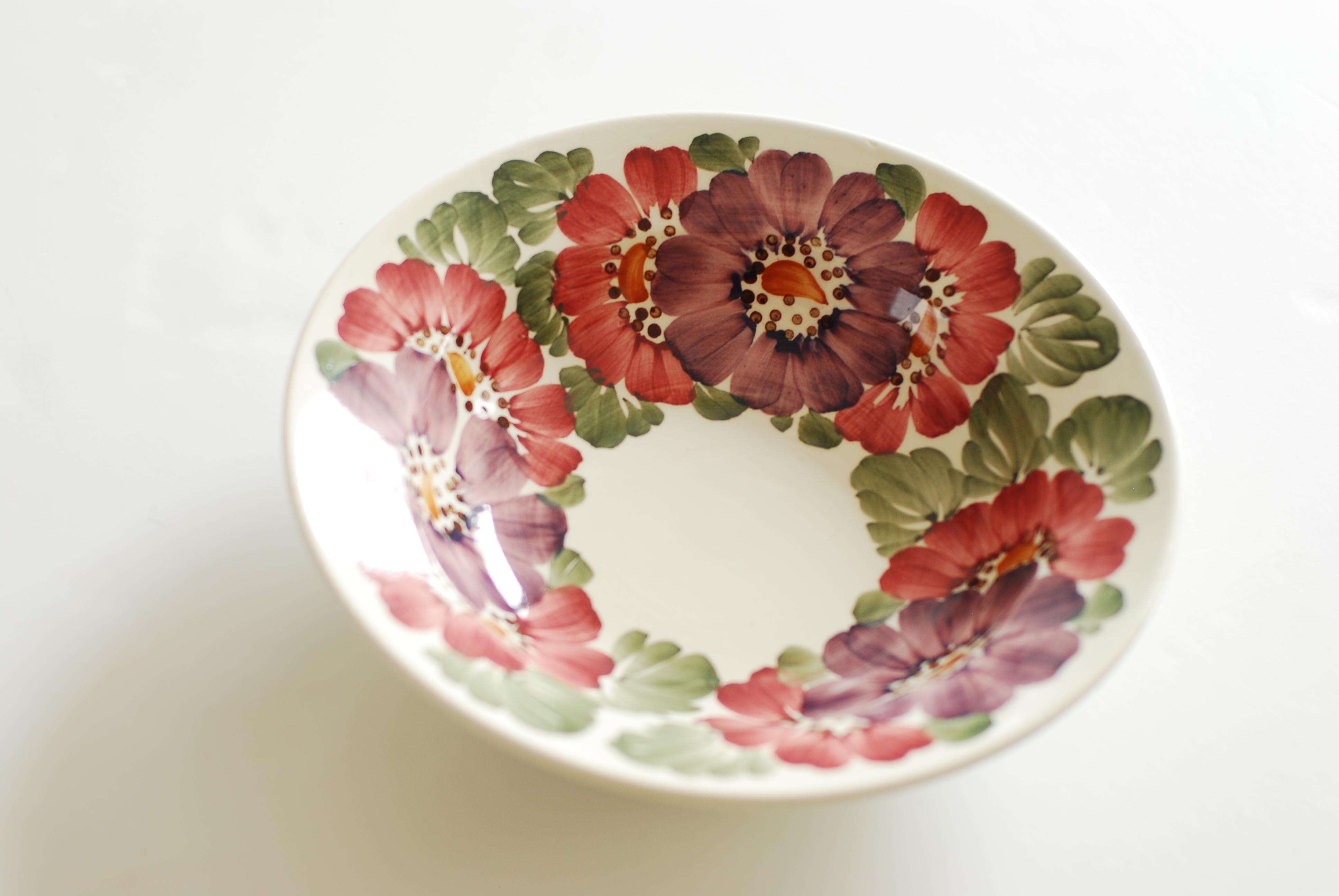 ピンクスープ皿
