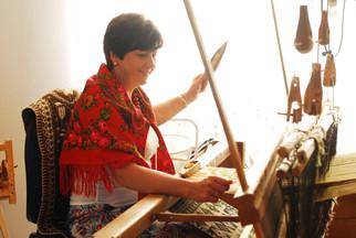 ヤノフ村の織物の可能性