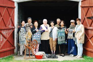 ポーランド・ヤノフ村の織物ツアー2017