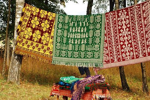 黄金の秋 ヤノフ織りと草木染め 10日間