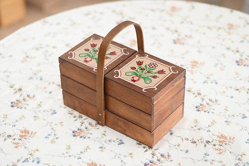 花束のお裁縫箱