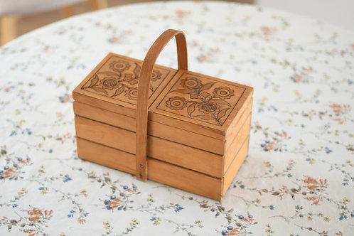 ひまわりのお裁縫箱