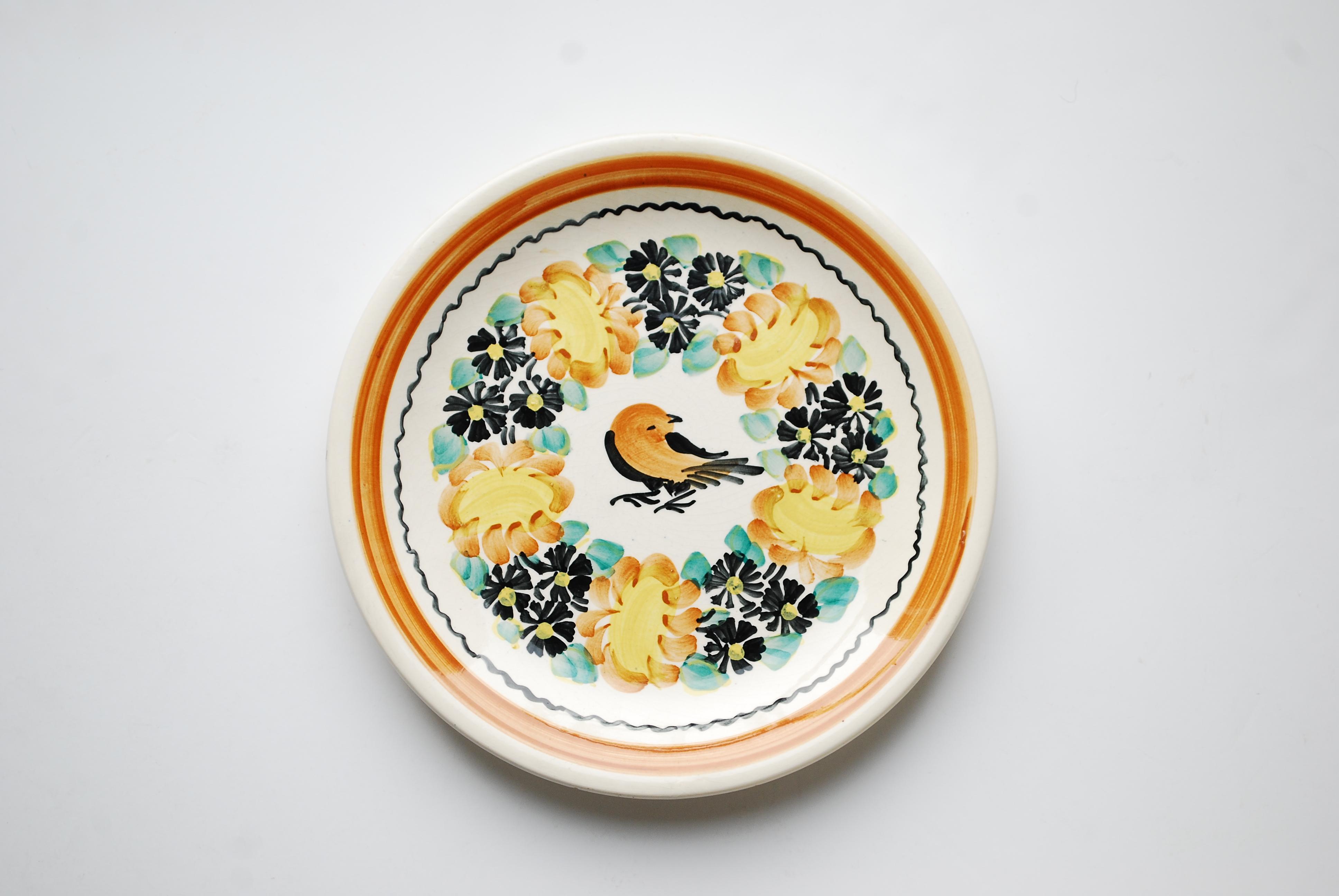 とりの平皿