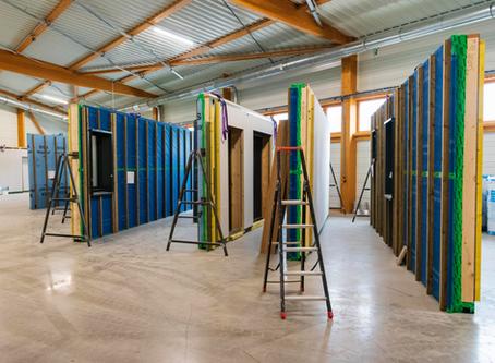 TESSA, vers une production industrialisée des murs ossature bois fermés