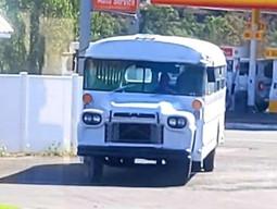1958 GMC School Bus Beach Woody Skoolie Conversion