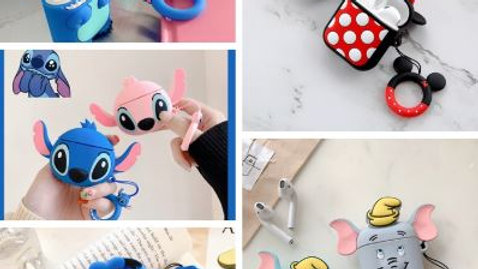 Cute Cartoon Stretch Covers For Airpods