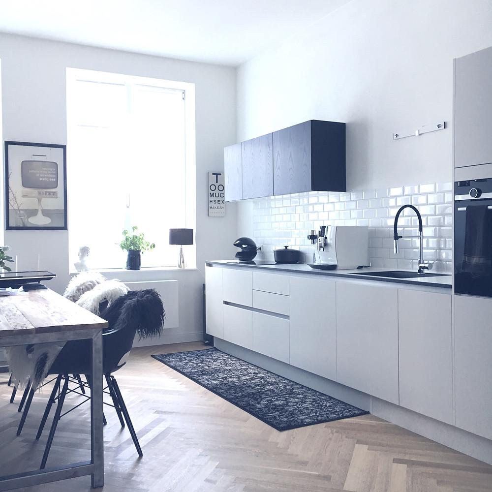 Küchenzeile in einer Altbauwohnung