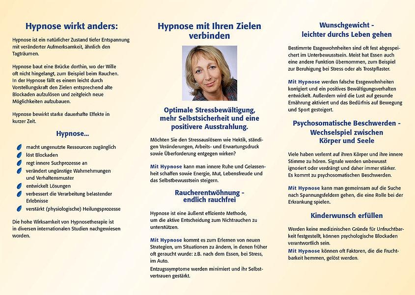 Hypnose-Flyer