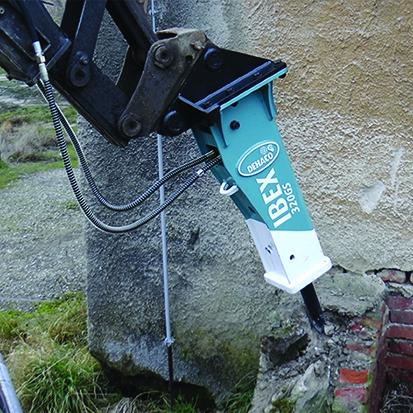 Dehaco IBEX Hidrolik Kırıcıları