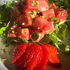 Watermelon & Watercress Salad