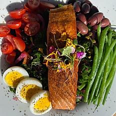 Voodoo Cajun Salmon Salad