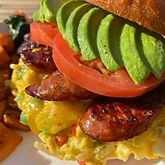 Cajun Breakfast Sando