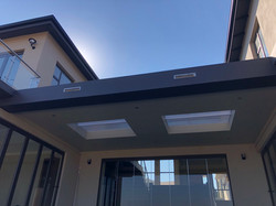 Ceiling structure patio