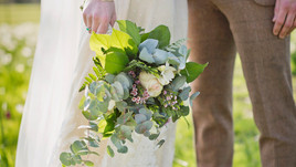 Bridal Bouquet in Spring