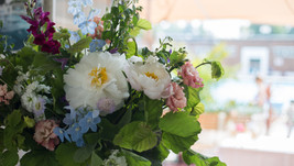 Spring Wedding at Brockwell Lido