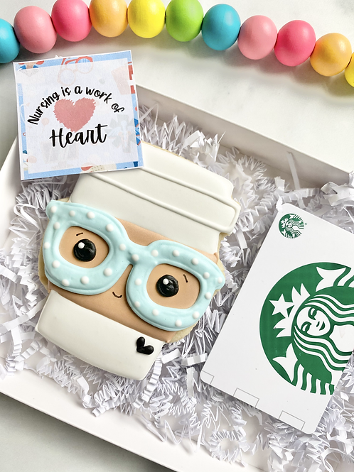 Nurse Gift with $5 Starbuck gift card