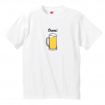 "<""Tie""-shirt>Cheers_adult"