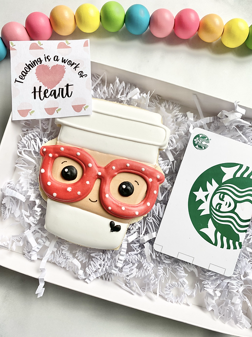 Teacher Gift with $5 Starbuck gift card