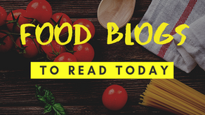 Food Blogs To Read Today