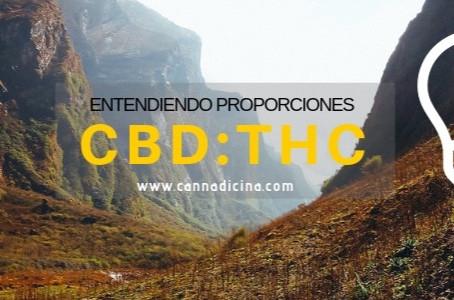Entendiendo Proporciones CBD:THC