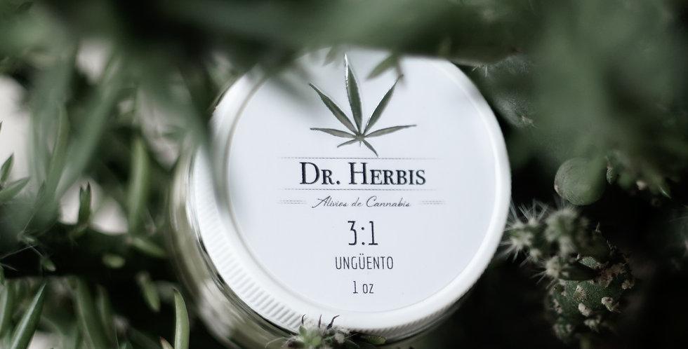 Dr.Herbis 3:1 Ungüento  1oz