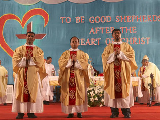 Three Priests Ordained for Archdiocese of Bombay