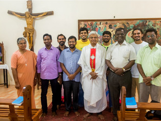 Retreat Experience of 2nd Year Theologians