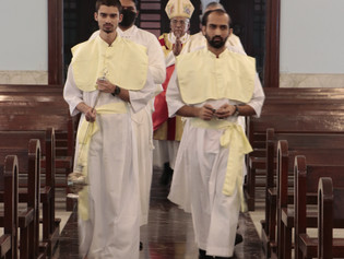 """""""Here I am, send me"""" - Ordinations to the Diaconate 2020"""