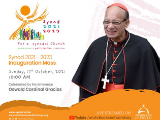 Synod 2021-23 Inauguration Mass in the Archdiocese of Bombay