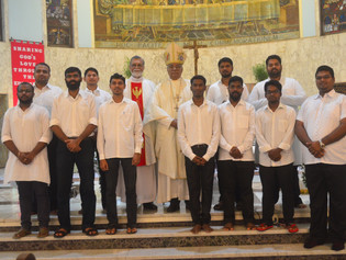 Ministry of Lector and Acolyte for Seminarians