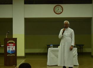 Fr. Tom Uzhunnalil SDB at St. Pius