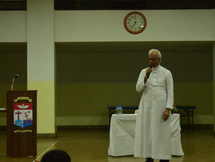 Fr. Tom Uzhunnalil SDB at St. Pius