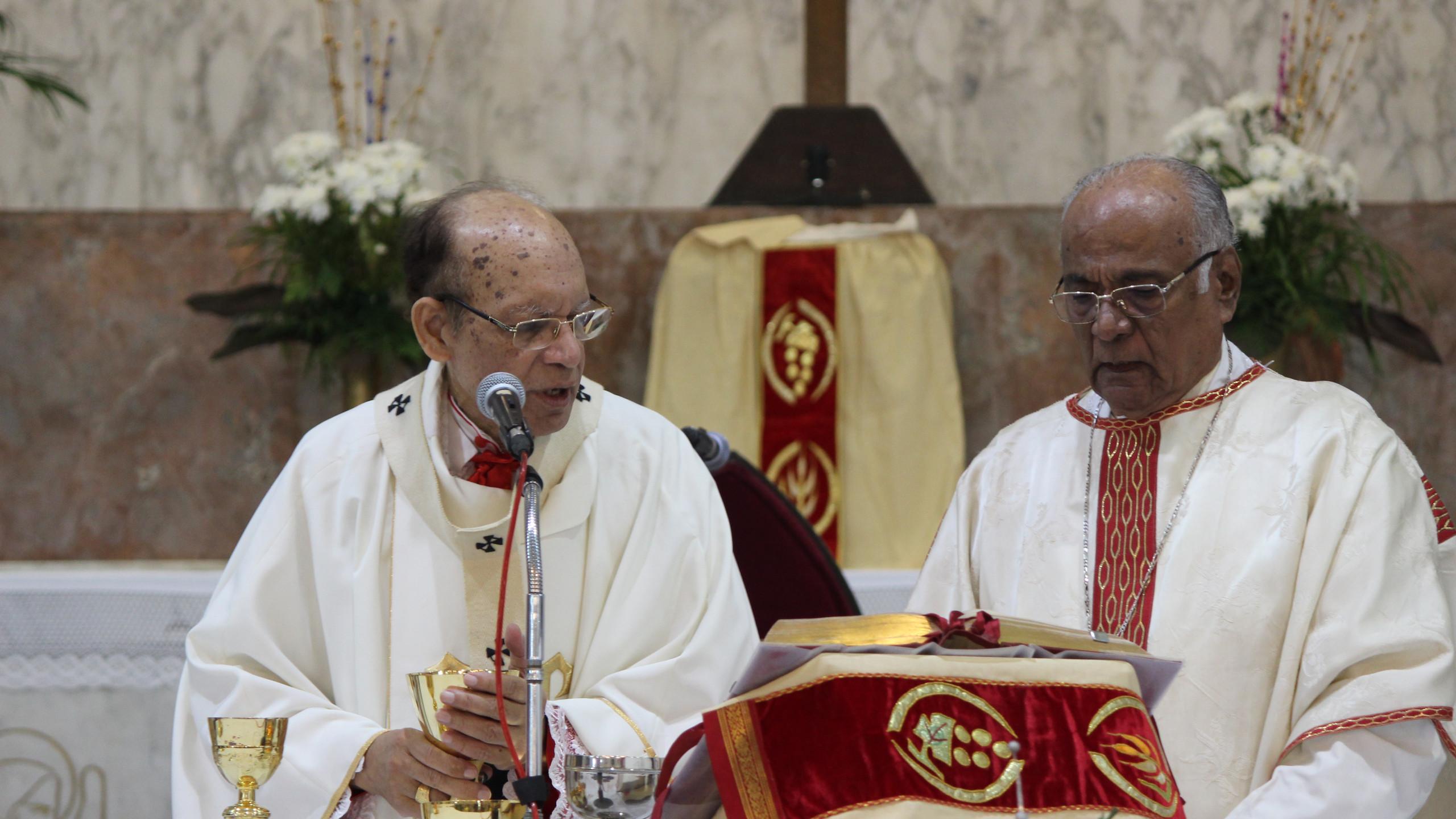 Cardinal Gracias & Bp. Percy