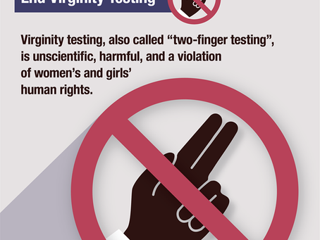 16 Days of Activism: Petition for the Amendment of Article 640(2) on Virginity Examination