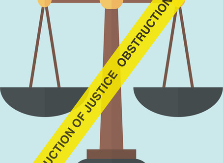 Prosecuting offenders for obstruction of justice