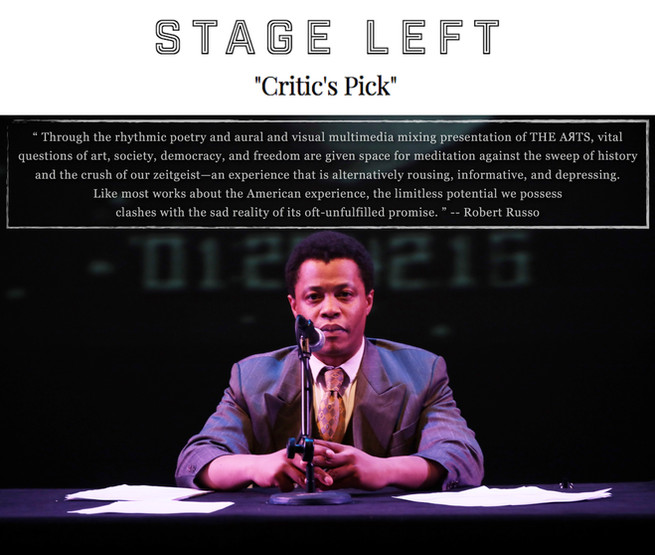 """""""THE AЯTS"""" (review) - STAGE LEFT"""