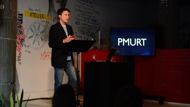 """PMURT"" -- premiere at Vooruit Arts Center (Gent)"