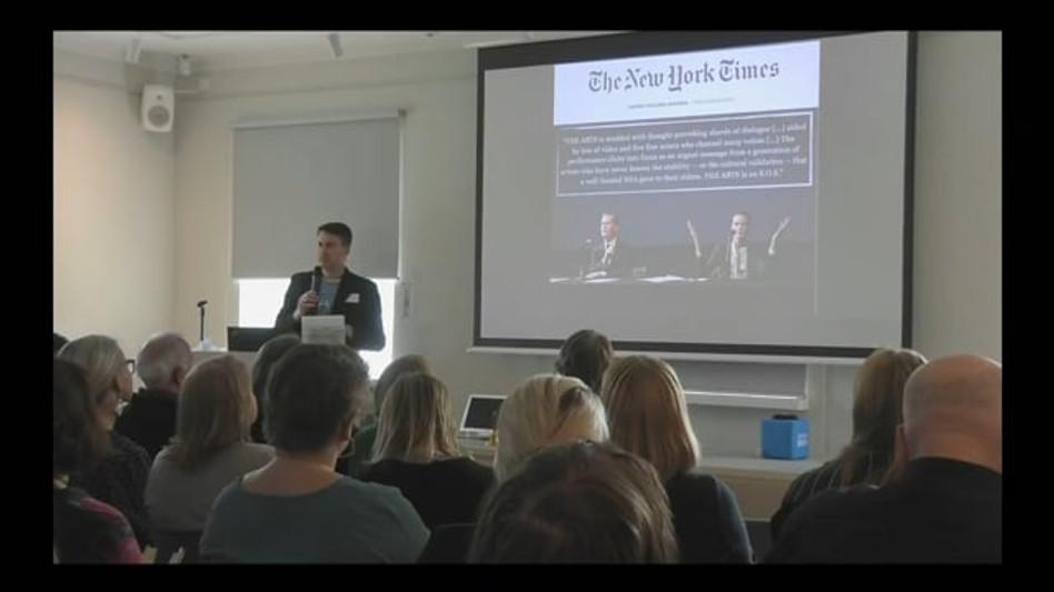 Kevin Doyle - Kone Foundation (Helsinki) - April 2019