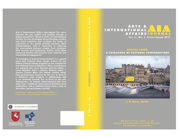 ARTS & INTERNATIONAL AFFAIRS, Vol. 2, No. 2