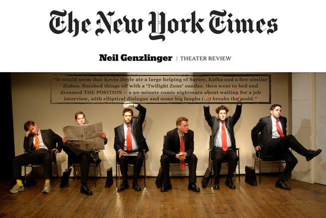 """""""THE POSITION"""" (review) - THE NEW YORK TIMES"""
