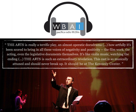 WBAI 99.5 FM (New York) - THE AЯTS (2018)