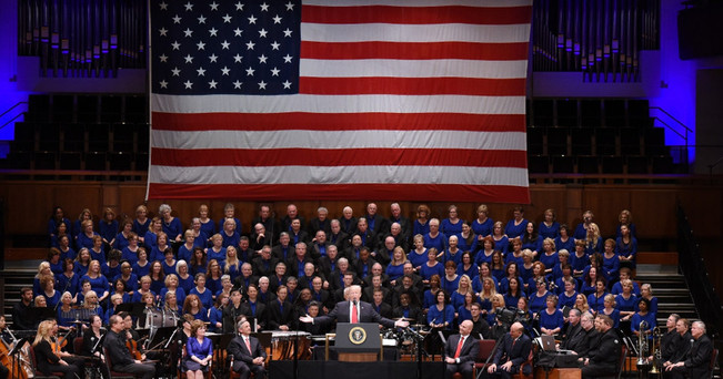 """""""Kennedy Center Coup d'état: Trump, The Celebrate Freedom Concert and the state of the arts"""" [2018]"""
