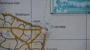 Svaneke - map station