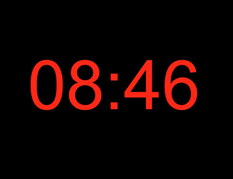 """ 8:46 """