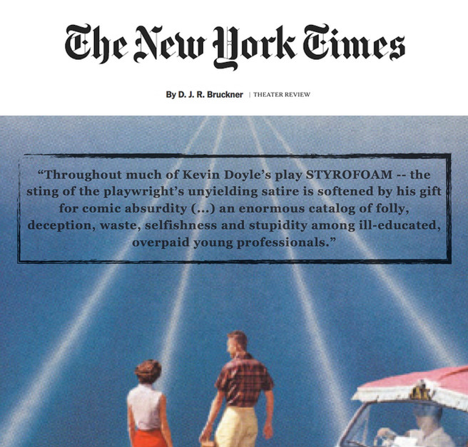 """""""STYROFOAM"""" (review) - THE NEW YORK TIMES"""