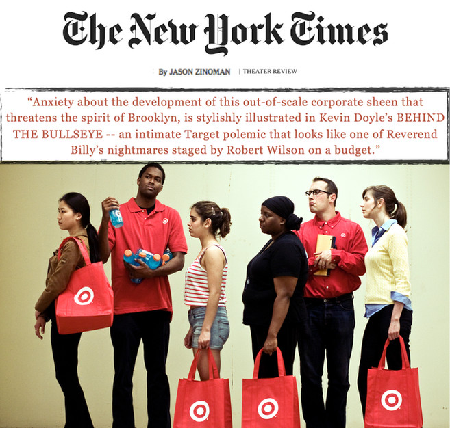 """""""Behind The Bullseye"""" (review) - THE NEW YORK TIMES"""
